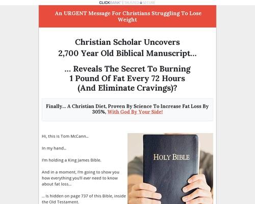 Christian Fat Loss Method
