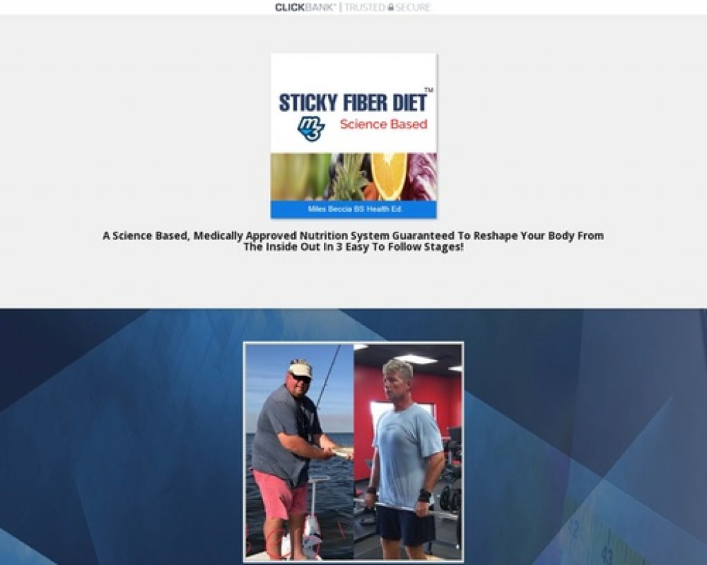Sticky Fiber Diet System Online Program - Mind Muscle Memory