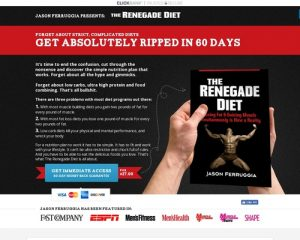Renegade Diet Book | by Jason Ferruggia