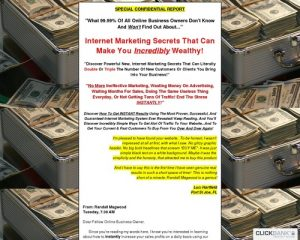 Randall Magwood's Internet Marketing Cash Machine