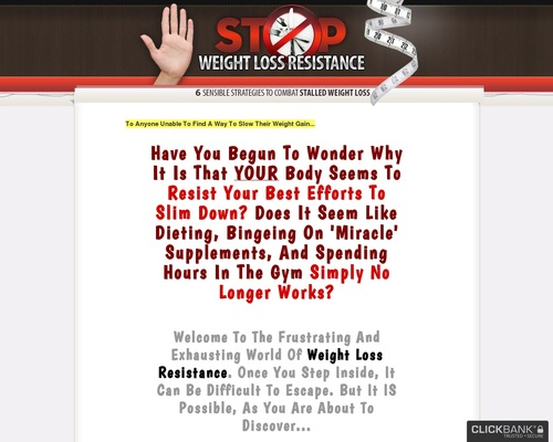 Stop Weight Loss Resistance: Strategies To Break Through Weight Loss Resistance
