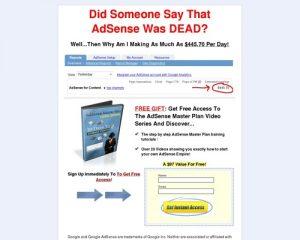 Make Money With Google AdSense - AdSense Master Plan Video Series