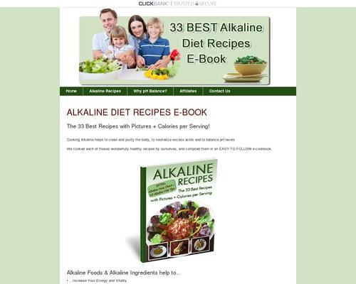 Download Alkaline Recipes E-Book | Alkaline-Recipes.com