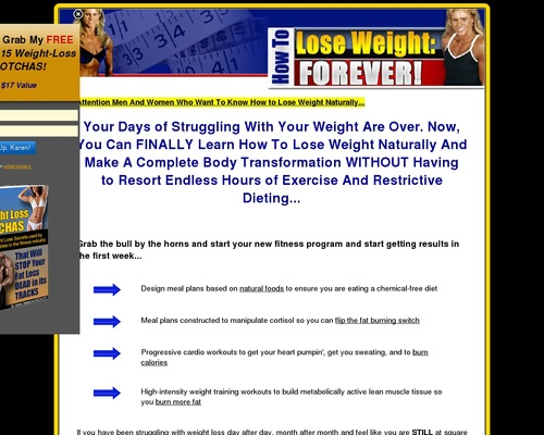 How To Lose Weight, Forever!