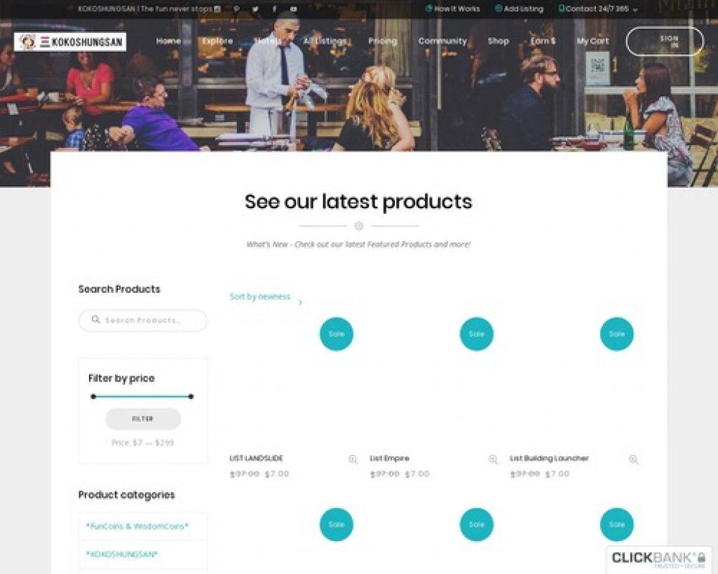 E-business & E-marketing | KOKOSHUNGSAN Pays You To Have Fun