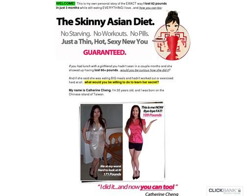 The Skinny Asian Diet!