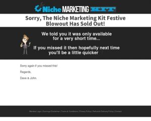 Niche Marketing Kit