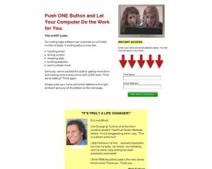 Push Button Marketer   Pushbutton Internet Marketing Software