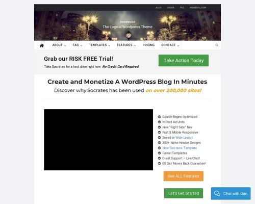 Socrates 5 - The Logical Wordpress Theme