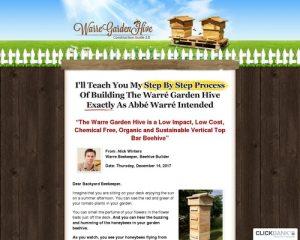 DIYBeehive.com   Build Your Own Warre Garden Backyard Top Bar Bee Hive