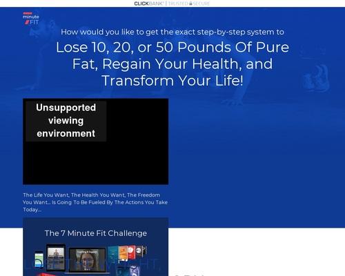 New **hot** Diet Weightloss Offer 7 Minute Fit