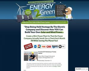 Build Your Own Wind And Solar Power System   Energy 2 Green