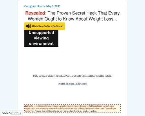 Women Discovers Secret FIT Beauty Hacks