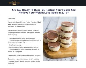 High Converting New Keto Diet Offer