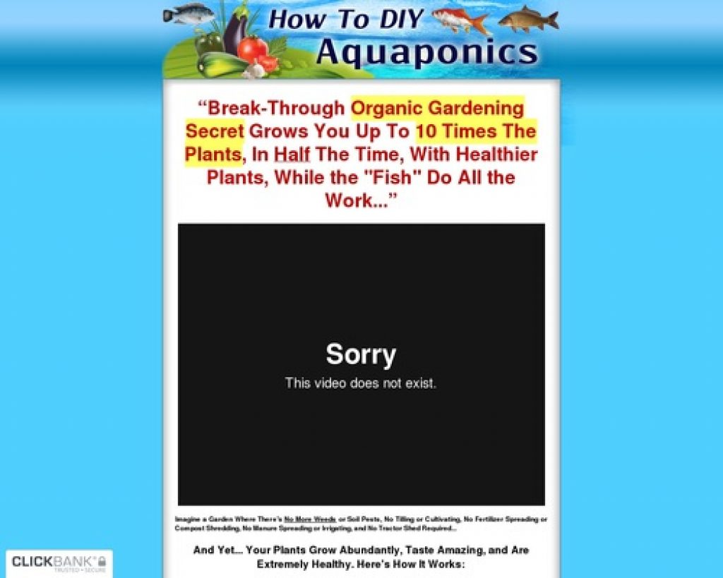 How To DIY Aquaponics - The How To  DIY Guide on Building Your Very Own Aquaponic System