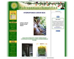 HYDROPONICS GROW BOX SYSTEM- COMPLETE PLANS AND TIPS