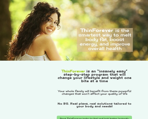 Thin Forever | Natural Weight Loss
