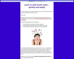 How to Read Music Notes for the Adult Beginner