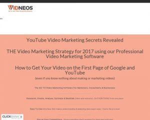 Vidneos Video Marketing Software Suite