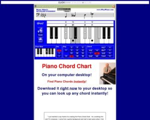 "Piano chords -- keyboard chords -- the amazing ""Chord Computer - ""Keyboard Chord Finder""."