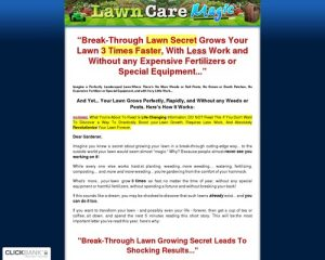 Lawn Care Magic ~ Grow Your Lawn 3 Times Faster!