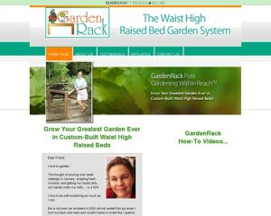 GardenRack ─ The Waist High Raised Bed Garden System | Home