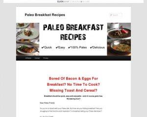 - Paleo Breakfast RecipesPaleo Breakfast Recipes