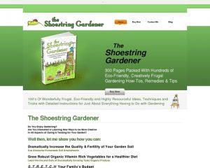 The Shoestring Gardener - Frugal Eco-friendly Gardening Tutorial