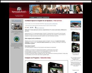 SpeechSchool.TV: Learn English Accent, Learn English, Elocution Lessons, Public Speaking