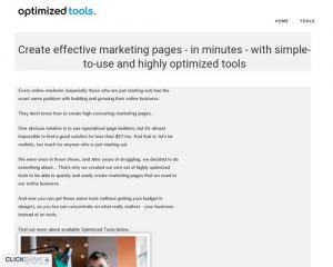 Optimized Tools – Smart Plugins For Internet Marketers