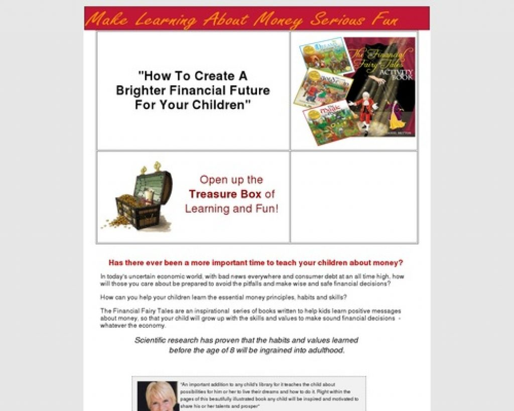 Kids and Money - The Financial Fairy Tales Treasure Box