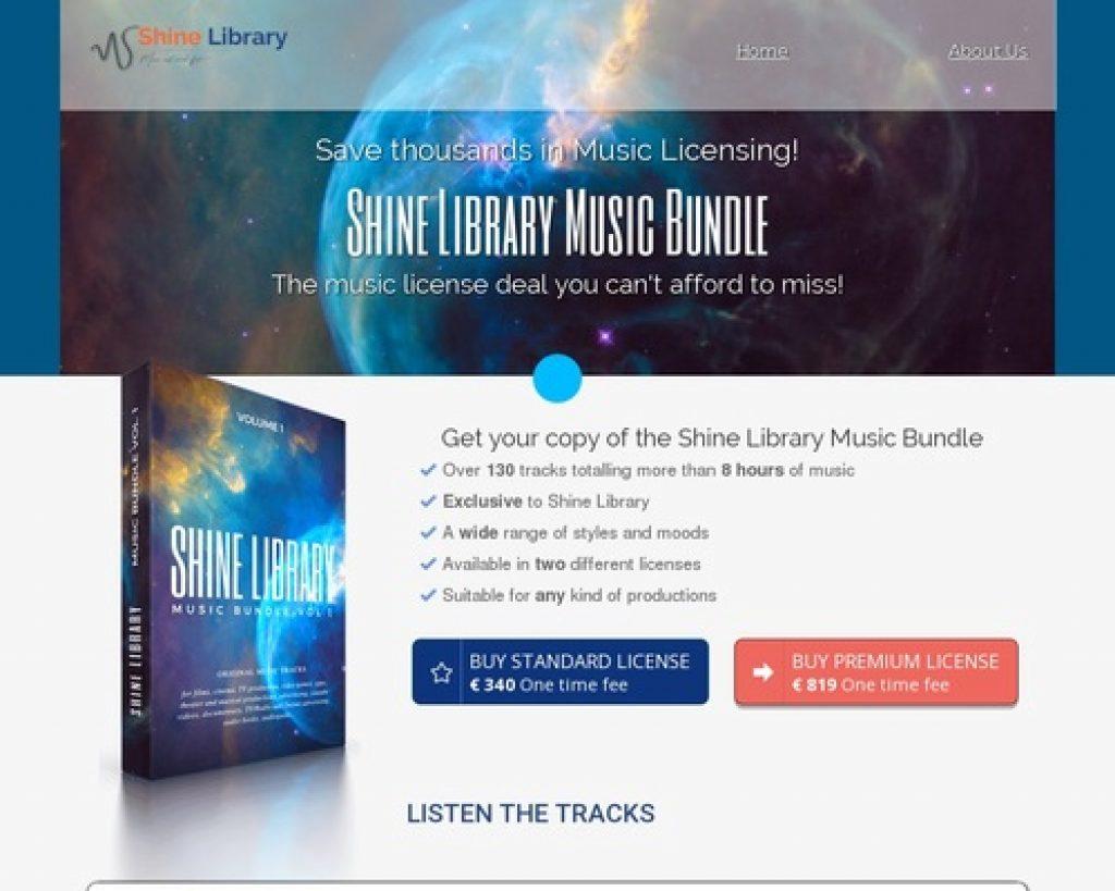 Shine Library Music Bundle Clickbank | Shine Library