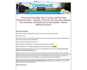 Golf Mental, Golf Psychology, Best Golf Training Aid