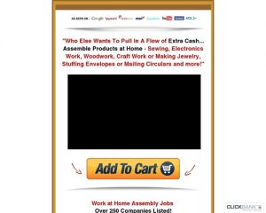 Work At Home Assemble & Crafts Jobs!