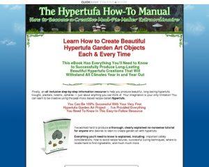 The Hypertufa How-to Manual