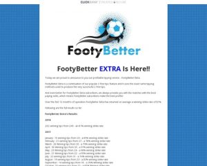 Extra Football Tips - FootyBetter