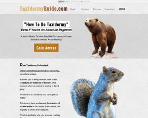 Taxidermy Made Easy - How To Taxidermy Guide: DIY Taxidermy Classes & School