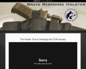 Top Concealed Carry Holster - Brave Response