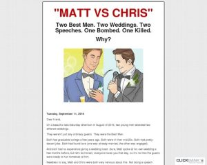 Wedding Speech Killer