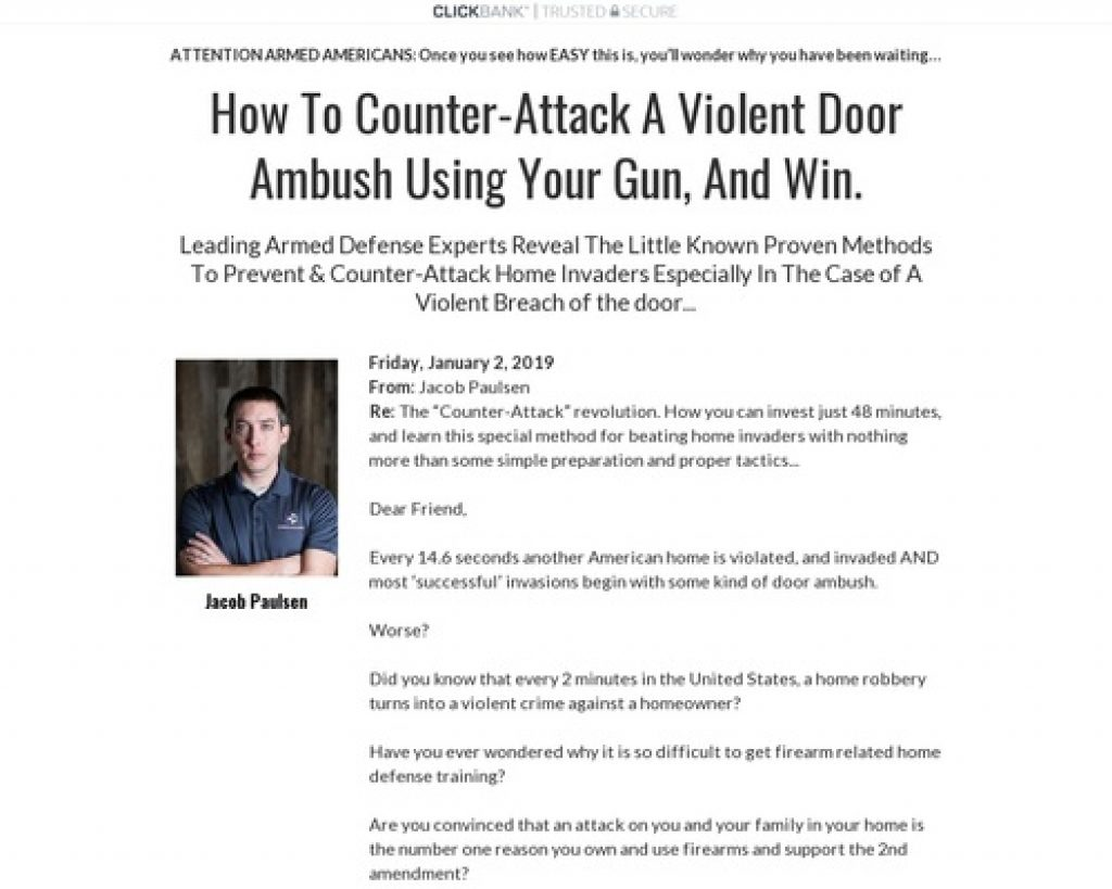 Dealing With Home Intruders at The Door