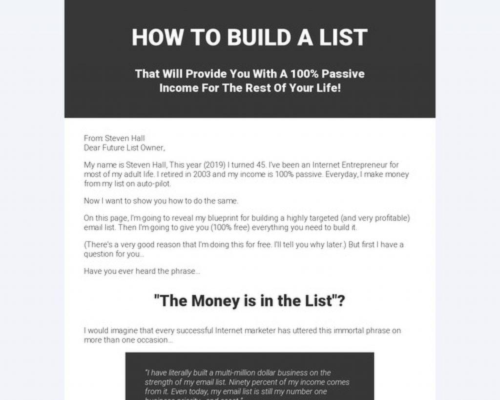 List Builder Pro