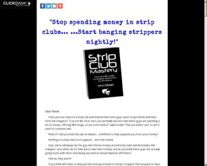 Strip Club Mastery - The Ultimate Strip Club Seduction Guide