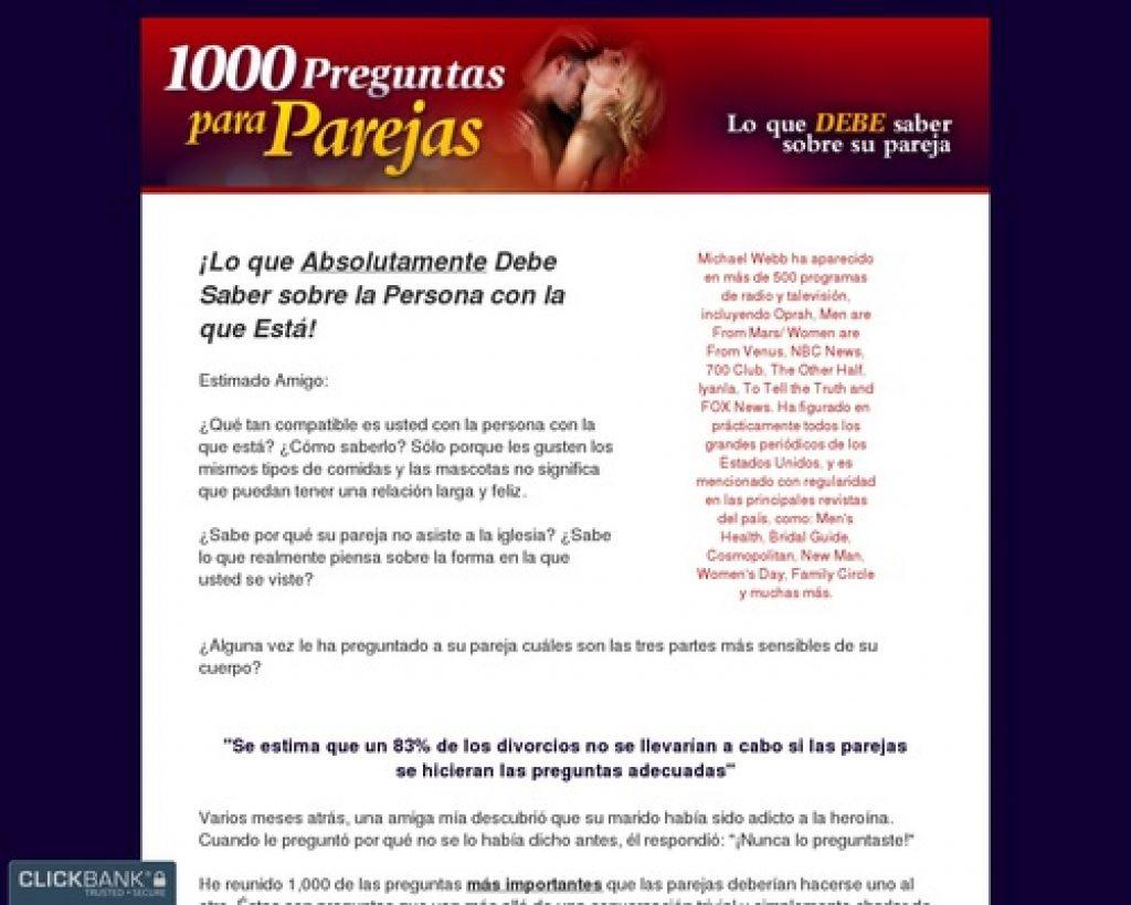 1000 Preguntas para Parejas