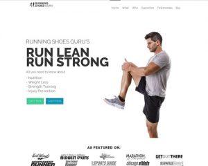 Run Lean Run Strong - By Running Shoes Guru