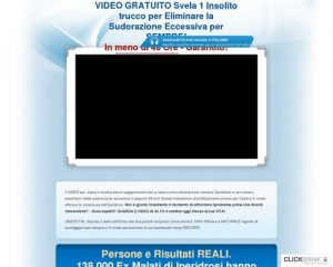 Miracolo per Iperidrosi - Video GRATUITO