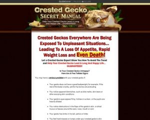Crested Gecko Secret Manual- Crested Gecko Care