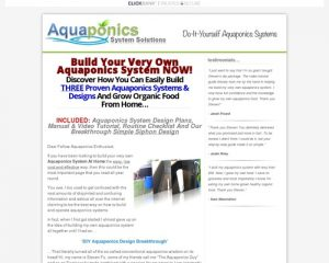 DIY Aquaponics 4 You - Growing Organic Food The Smart Way