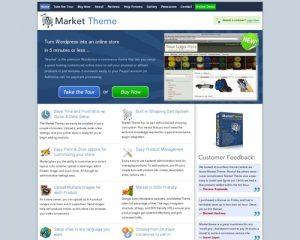 Market Theme -- Turn Wordpress Into An Online Store
