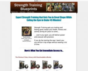 Strength Training Blueprints - No Fluff Strength Training with Weights