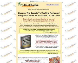 E-Cookbooks Library | Restaurant Recipes